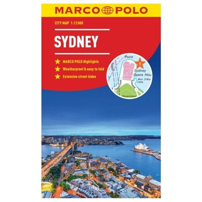 Sydney City Map Marco Polo