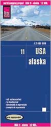 Alaska Travel & Road Map. Alaska road map at 1:2,000,000. Reise Know-How maps are double-sided multi-language, rip proof, waterproof maps with very modern cartographic style. Each map is very clear and detailed with an index of place names and often inclu