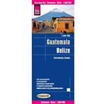 Guatemala and Belize road & travel map. Reise Know-How maps are double-sided multi-language, rip proof, waterproof maps with very modern cartographic style. Each map is very clear and detailed with an index of place names and often include inset maps.