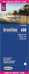 This is a map of Southern Brazil. Reise Know-How maps are double-sided multi-language, rip proof, waterproof maps with very modern cartographic style. Each map is very clear and detailed with an index of place names and often include inset maps.