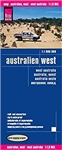 Australia West - waterproof road map