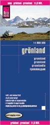 Greenland road & travel map. Reise Know-How maps are double-sided multi-language, rip proof, waterproof maps with very modern cartographic style. Each map is very clear and detailed with an index of place names and often include inset maps.