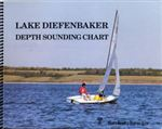 Lake Diefenbaker Depth Sounding Chart. These charts are not for navigation - they are not accurate enough for these purposes. Depths shown refer to full supply levels. Existing navigational hazards are not indicated.