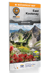 East Kootenay BC Recreation & Trails Map. This double-sided BC topographic map covers the East Kootenay area like no other map. Includes Banff, Canal Flats, Canmore, Cranbrook, Creston, Elkford, Fairmont Hot Springs, Fernie, Flathead, Golden, Invermere, K