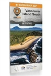 Vancouver Island South BC Adventure Map. Covers the areas around Duncan, Tofino, Bamfield, Victoria, the Gulf Islands and more, this is a must-have for any Vancouver Island adventure. From the breathtaking wilderness of Strathcona Provincial Park to the h