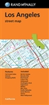 Los Angeles Street Map by Rand McNally. Includes Bel Air Estates, Beverly Hills, Brentwood, Culver City, Hollywood, Huntington Park, Inglewood, Malibu, Mar Vista, Pacific Palisades, Santa Monica, Vence, West Hollywood. Shows all Interstate, US state, and