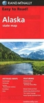 Alaska State Map. Detailed maps of Anchorage, Denali National Park, Fairbanks, The Inside Passage, Juneau, Downtown Juneau, Ketchikan and Sitka. Rand McNallys Easy To Read State Folded Map is a must-have for anyone traveling in and around Alaska, offering