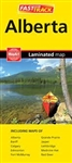 Alberta Laminated Road Map Fast Track. Includes maps of Alberta, Banff, Calgary, Edmonton, Fort McMurray, Grande Prairie, Jasper, Lethbridge, Medicine Hat and Red Deer. Laminated Fast Track maps are durable, convenient, and take all the wear and tear your
