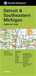 Rand McNally's folded map for Detroit is a must-have for anyone traveling in and around the Detroit area and Southeastern part of Michigan, offering unbeatable accuracy and reliability at a great price. Our trusted cartography shows all Interstate, U.S.,