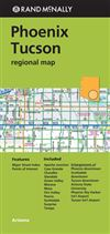 Phoenix Tucson regional road map. Rand McNally's folded map featuring the highways of Phoenix, Tucson, and vicinity is a must-have for anyone traveling in and around this part of the state, offering unbeatable accuracy and reliability at a great price. Ou