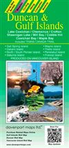 Duncan & Gulf Islands Travel & Road Map. A comprehensive guide of the Duncan & Gulf Islands area including the communities of: Ladysmith, Chemainus, Crofton,, North Cowichan, Maple Bay, Lake Cowichan, Youbou, Honeymoon Bay, Mesachie Lake, Cowichan Bay, Co