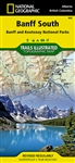 Banff South, Banff and Kootenay National Parks Map. National Geographics Trails Illustrated map of Banff South is a two-sided, waterproof map designed to meet the needs of outdoor enthusiasts with unmatched durability and detail. This map was created in c