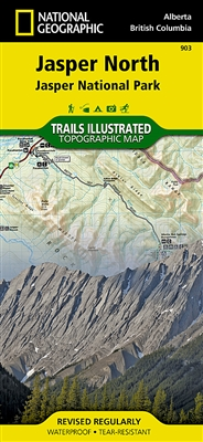 903 Jasper North Jasper National Park National Geographic Trails Illustrated