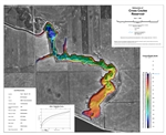 Cross Coulee Reservoir Bathymetric Chart