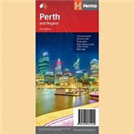 Perth and Region - City & Suburbs Road map is the perfect compact touring map, with a convenient railway map and listed things to see and do in Perth. A map that has the Perth suburbs (1:80,000) and Perth city (1:15,000) maps on one side and the Perth reg