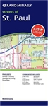 Easy to read detailed street map of St. Paul Minnesota. It includes Apple Valley, Arden Hills, Blaine, Eagan, Hugo, Inver Grove Heights, Landfall, Lino Lakes, Maplewood, New Brighton, North Oaks, Roseville and White Bear Lake. There is also a map of downt