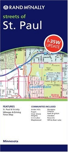 Hugo Minnesota Map.Easy To Read Detailed Street Map Of St Paul Minnesota It Includes