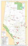 Alberta Provincial Base Map Native Lands Reserves
