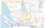 British Columbia Provincial Base Map Native Lands Reserves