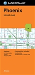 Phoenix street map by Rand McNally. Includes Paradise Valley, downtown and vicinity maps. Includes parks, points of interest, airports, county boundaries, schools, shopping malls, downtown and vicinity maps. Clearly labeled Interstate, U.S., state, and co