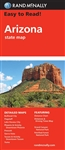 Arizona USA State road map. Rand McNally's Easy To Read State Folded Map is a must-have for anyone traveling in and around Arizona, offering unbeatable accuracy and reliability at a great price. Our trusted cartography shows all Interstate, U.S., state, a