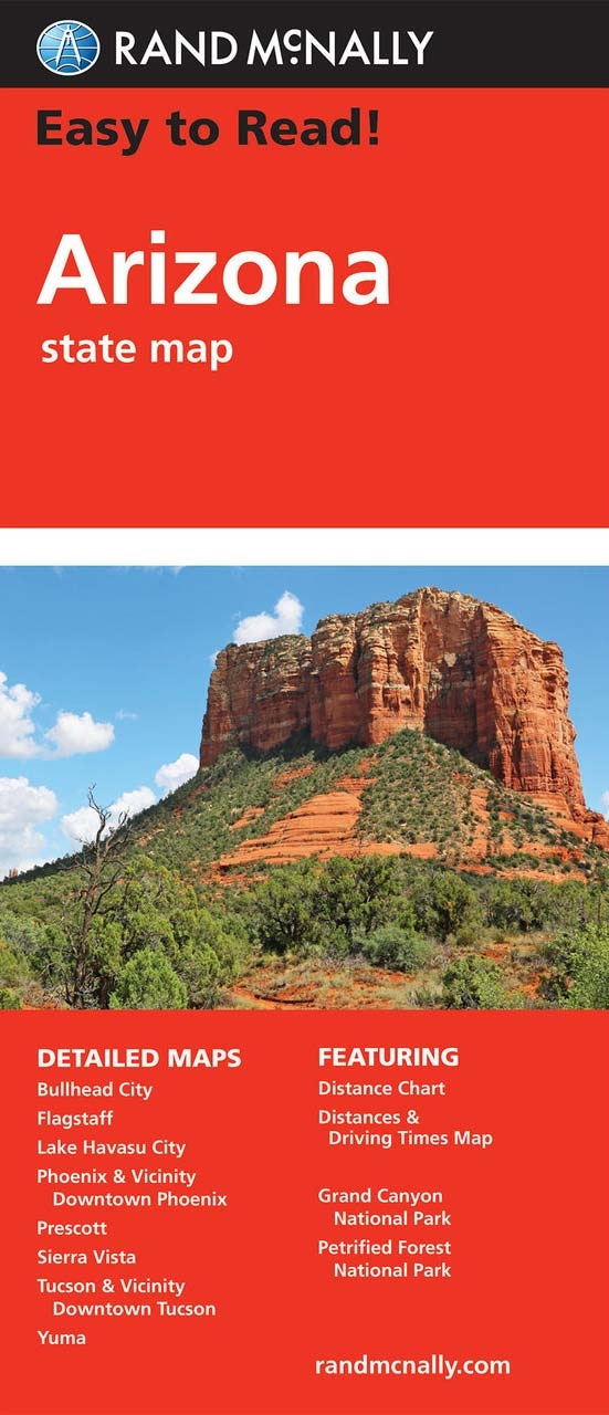 Arizona USA State road map