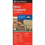 New England Regional Map by Rand McNally. ​Rand McNallys folded map featuring New England is a must have for anyone traveling in and around this part of the country, offering unbeatable accuracy and reliability at a great price. Our trusted cartography