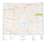 AB072E - FOREMOST - Topographic Map. The Alberta 1:250,000 scale paper topographic map series is part of the Alberta Environment & Parks Map Series. They are also referred to as topo or topographical maps is very useful for providing an overview of an are