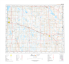 AB072M - OYEN - Topographic Map. The Alberta 1:250,000 scale paper topographic map series is part of the Alberta Environment & Parks Map Series. They are also referred to as topo or topographical maps is very useful for providing an overview of a