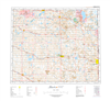 AB073E - VERMILION - Topographic Map. The Alberta 1:250,000 scale paper topographic map series is part of the Alberta Environment & Parks Map Series. They are also referred to as topo or topographical maps is very useful for providing an overview of a