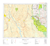 AB082G - FERNIE - Topographic Map. The Alberta 1:250,000 scale paper topographic map series is part of the Alberta Environment & Parks Map Series. They are also referred to as topo or topographical maps is very useful for providing an overview of a