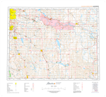 AB082I - GLEICHEN - Topographic Map. The Alberta 1:250,000 scale paper topographic map series is part of the Alberta Environment & Parks Map Series. They are also referred to as topo or topographical maps is very useful for providing an overview of a