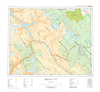 AB082N - GOLDEN - Topographic Map. The Alberta 1:250,000 scale paper topographic map series is part of the Alberta Environment & Parks Map Series. They are also referred to as topo or topographical maps is very useful for providing an overview o