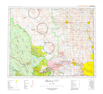 AB082O - CALGARY - Topographic Map. The Alberta 1:250,000 scale paper topographic map series is part of the Alberta Environment & Parks Map Series. They are also referred to as topo or topographical maps is very useful for providing an overview o