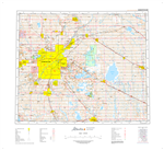 AB083H - EDMONTON - Topographic Map. The Alberta 1:250,000 scale paper topographic map series is part of the Alberta Environment & Parks Map Series. They are also referred to as topo or topographical maps is very useful for providing an overvi