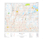 AB083I - TAWATINAW - Topographic Map. The Alberta 1:250,000 scale paper topographic map series is part of the Alberta Environment & Parks Map Series. They are also referred to as topo or topographical maps is very useful for providing an overvi