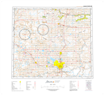 AB083M - GRANDE PRAIRIE - Topographic Map. The Alberta 1:250,000 scale paper topographic map series is part of the Alberta Environment & Parks Map Series. They are also referred to as topo or topographical maps is very useful for providing an overview of