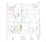 AB084F - BISON LAKE - Topographic Map. The Alberta 1:250,000 scale paper topographic map series is part of the Alberta Environment & Parks Map Series. They are also referred to as topo or topographical maps is very useful for providing an overview of an a