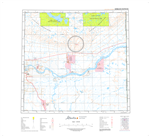 AB084J - VERMILION CHUTES - Topographic Map. The Alberta 1:250,000 scale paper topographic map series is part of the Alberta Environment & Parks Map Series. They are also referred to as topo or topographical maps is very useful for providing an overview o