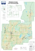 Athabasca County Landowner map - County 12. County and Municipal District (MD) maps show surface land ownership with each 1/4 section labeled with the owners name. Also shown by color are these land types - Crown (government), Freehold (private) and Crown