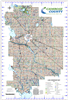 Camrose County Landowner map - County 22. County and Municipal District (MD) maps show surface land ownership with each 1/4 section labeled with the owners name. Also shown by color are these land types - Crown (government), Freehold (private) and Crown L