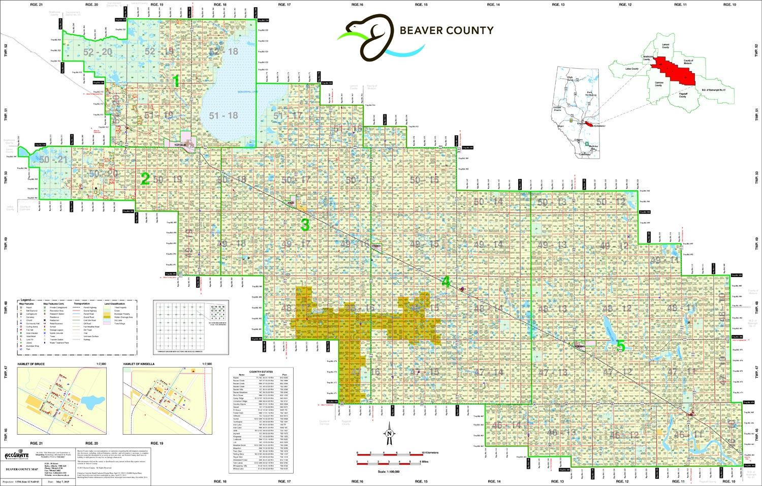 Land Ownership Maps Beaver County Landownership map C9. Includes places such as