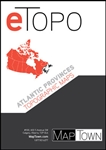 E90006 Atlantic Provinces Etopo Digital Maps