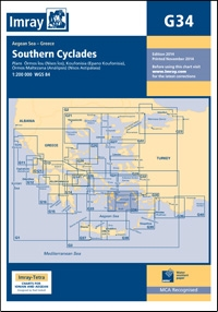 IMRG34 Southern Cyclades East Sheet