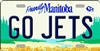 "Go Winnipeg Jets - Friendly Manitoba Metal License Plate. Heavy duty metal that can go on the front of the car or in your man cave. This 6"" x 12"" automotive high gloss metal license plate tag is made of the highest quality aluminum for a weather resistant"
