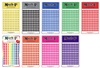 "Stickers - Medium Numbered Dots- pack of 480. Small 1/4"" dot stickers in a variety of colours. There are 600 dots per package. They are self adhesive, peel off markers that are great for maps, reports and special projects."