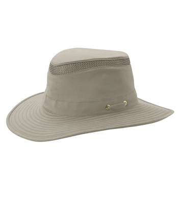 TILLEY Hikers Hat Khaki Olive T4MO1. Guaranteed for life. Water repellent finish. Keep valuables safe in the secret pocket. Stays afloat in water. The ultimate tail hat. Designed with an evaporative cooling insert, powered by HyperKewl, to help relieve h
