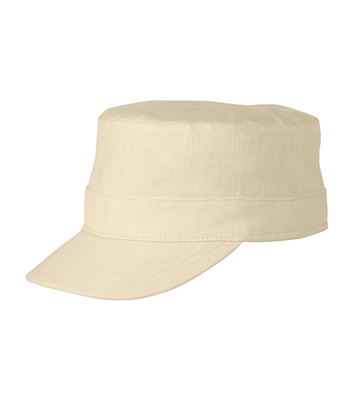 TILLEY Hemp Cap Natural TC2. Inspired by military styling, Tilley made this Hemp Cap in durable & comfortable hemp fabric. Guaranteed for life. Water repellent finish. Keep valuables safe in the secret pocket. Stays afloat in water.