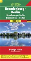 Brandeburg & Berlin Germany Travel & Road Map. Good detailed map of Berlin and Brandeburg, Germany. Includes index with postal codes and a legend. Suitable for use with GPS. Freytag & Berndt road maps are available for many countries and regions worldwide
