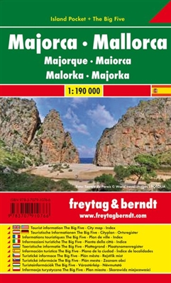 ak0507ip Mallorca Majorca Island Pocket Map